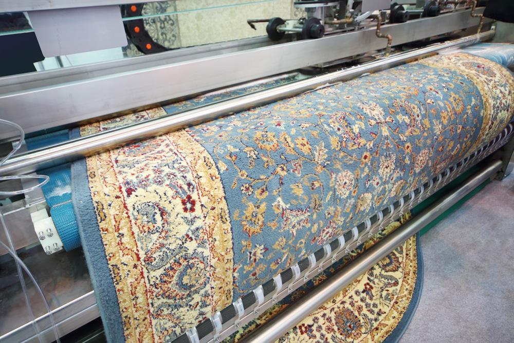 machine for clean carpet